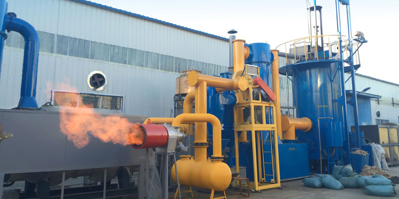 Biomass&MSW gasifier system